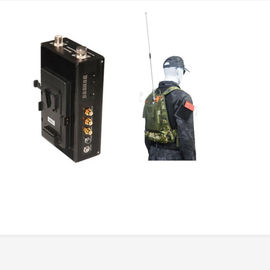 Body Worn Manpack COFDM Wireless Video Transmitter 20W For Military / Armed Force