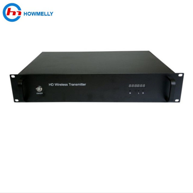 10W-30W Long Distance Wireless Video Transmitter HDMI SDI CVBS AV Input Interface